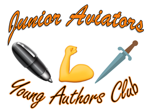 Young authors club logo